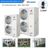 Cold -25c Winter Running 12kw / 19kw 35kw Floor Heating Room Indoor Unit / Outdoor Unit Evi Split Air to Water Heat Pump