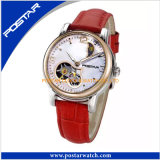 OEM Mechanical Watch for Women with Genuine Leather Band