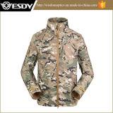 Men′s Softshell Waterproof Jacket Outdoor Military Officer Commander Coat