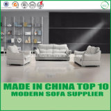 Chinese Design Modern Office Leather Sofa Set with Wooden Frame