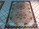 Porcelain Polished Crystal Golden Carpet Floor Tile
