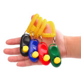 Portable Universal Animal Pet Training Clicker Obedience Aid