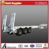 30ton-80ton Heavy Duty Low Bed Semi Truck Trailer (extendable type)