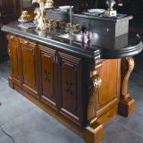 2016 Welbom Cherry Wood Kitchen Cabinet