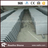 Chinese G654 Grey Flamed Granite Paving Stone Tiles for Plaza