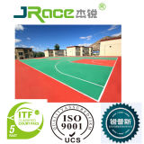UV Coating 3/4/5mm Thickness Indoor Rubber Flooring Sport Flooring Surface