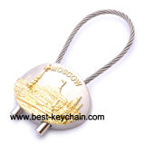 Souvenir Metal Emboss Logo Russ Gift Moscow Key Chain (BK52322)