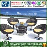 Garden Wicker Chair Cube Dining Set Outdoor Rattan Patio Furniture (TG-700)
