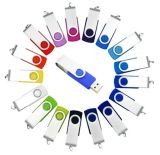 Colorful Swivel USB Flash Drive (DN-01)