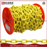 China Rigging G80 Type Lashing Chain Yellow Sprayed