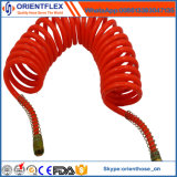 Best Quality PU Air Brake Coil Hose with Fittings