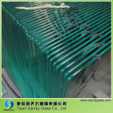 Round Polished Edge Glass/Tempered Glass for Home Appliance