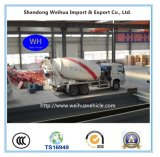 Sinotruk HOWO 6X4 8cbm Cement Mixer Concrete Mixer Truck