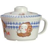 100% Melamine Dinnerware- Kid′s Mug W/Cover Melamine Bowl (BG635S)