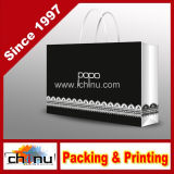 Customized Design Monochrome Printing Gift Packaging Paper Bag (5119)