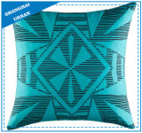 Green Shape Design Polyester Filled Cushion