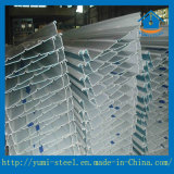 Al Mn Mg Alloy Corrguated Full Standing Seam Roofing Plate