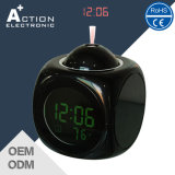 Unique Digital Talking Projection LED Electronic Clock with Alarm