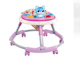 Wholesale Plastic Material Safe Cheap Price Round Baby Walker