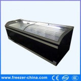 Best Selling Commercial Supermarket Island Refrigerator Wholesale with Ce Certification