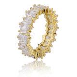 Semi Jewelry 18k Gold Plated Women Custom Signet Ring