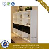 White Color Laminate Design Bedroom Storage Wardrobe (HX-LC2052)