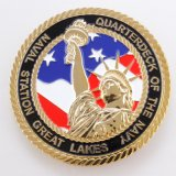 Die Casting Hard Enamel Challenge Coin for Sale (XDBG-236)