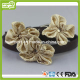 Flower of PU Dog Leash Dog Supply
