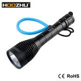 Hoozhu Light Waterproof 100m LED Flashlight with 2X 26650 Battery