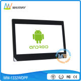 Android Wireless WiFi Video 13 Inch Digital Picture Frame for Retail Store