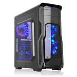 Acrylics Style Side Panel MID ATX Gaming Computer Case Mjzs
