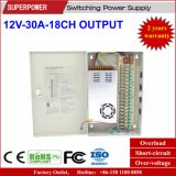 12V 30A 18CH Output CCTV Camera Switching Power Supply