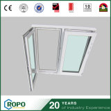 Bathroom UPVC Tilt and Turn Window From China Factory