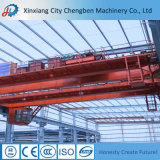 China Reliable Traveling 60 Ton Double Girder Overhead Crane Supplier