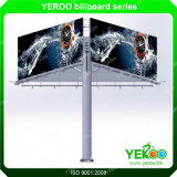 Outdoor Three Sided Billboard Manufacturers LED Light Advertising Equipment