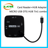 Hotselling Micro USB OTG Hub 7in1 Adapter for OTG Phone