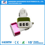 Quick Charge 3 Port Car Charger for Multi Cellphone