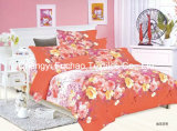 Full Size Printed Microfiber Quilt Cover Faric for Bedding Set