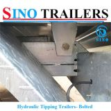 Farm Machinery Side Tipping Agricultural Hydraulic Trailer for Sale