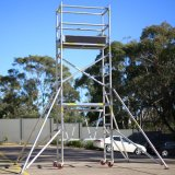 6082 Scaffolding Mobile Tower Aluminum Scaffold in Aluminum Scaffolding System