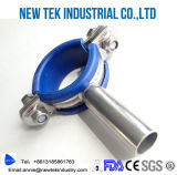 304 Stainless Steel Round Pipe Hanger with Rubber