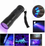 12 LED Multifunction Money Detector 395nm UV Flashlight