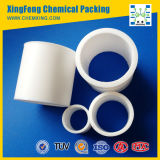 Plastic PTFE Raschig Ring Packing