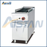 Eh879 Electric Lava Rock Grill with Cabinet of Catering Equipment
