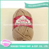 Hand Knitting Gloves Weaving Pure Wool Yarn