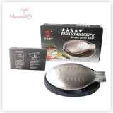 Laundry Soad Stainless Steel Fish-Shaped Odor Eliminating Soap 99*49*19mm