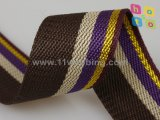 1-1/2 Inch Colorful Striped PP Polypropylene Webbing for Bag