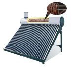 2017 Hot Sale Pre-Heated Solar Water Heating with Copper Coil