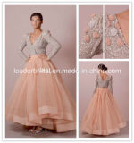 Coral Prom Party Evening Dresses A-Line Mother of Bride Gowns Z3038