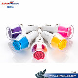 Mobile Phone Inovation Rose Design 2 Dual USB Car Charger
